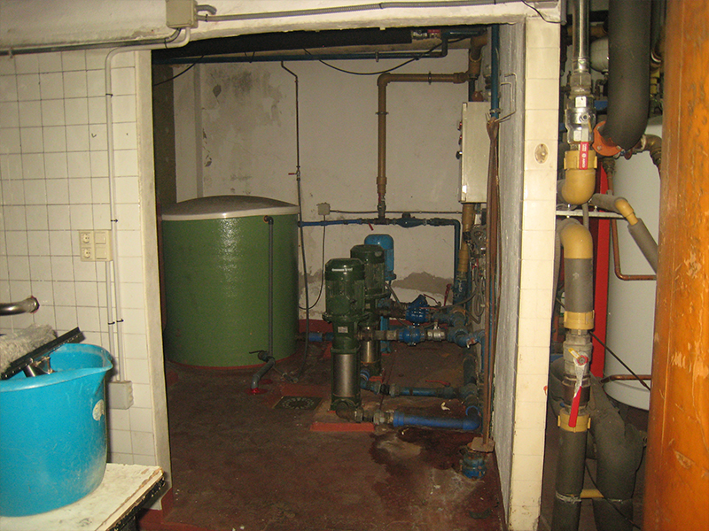 Reforma Sala de Calderas a Gas Natural - Antes