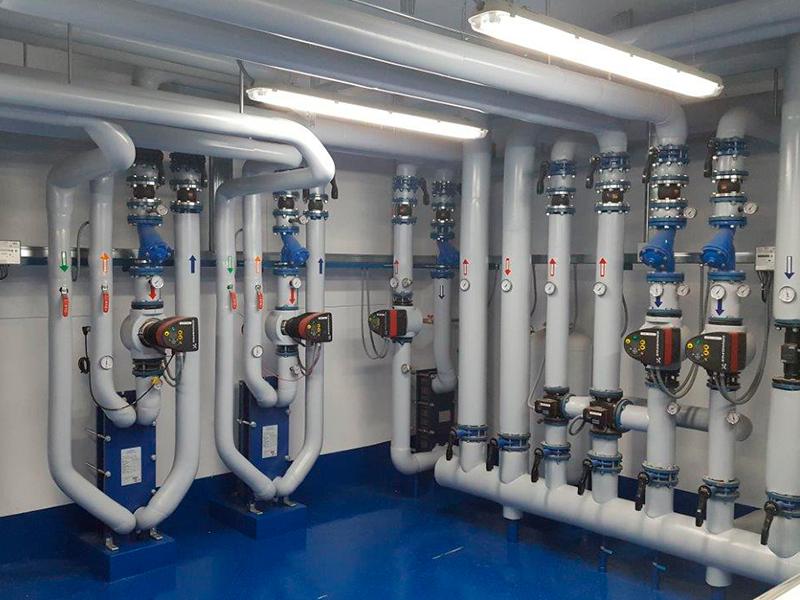 Reforma Sala de Calderas a Gas Natural - Modesta Coruña