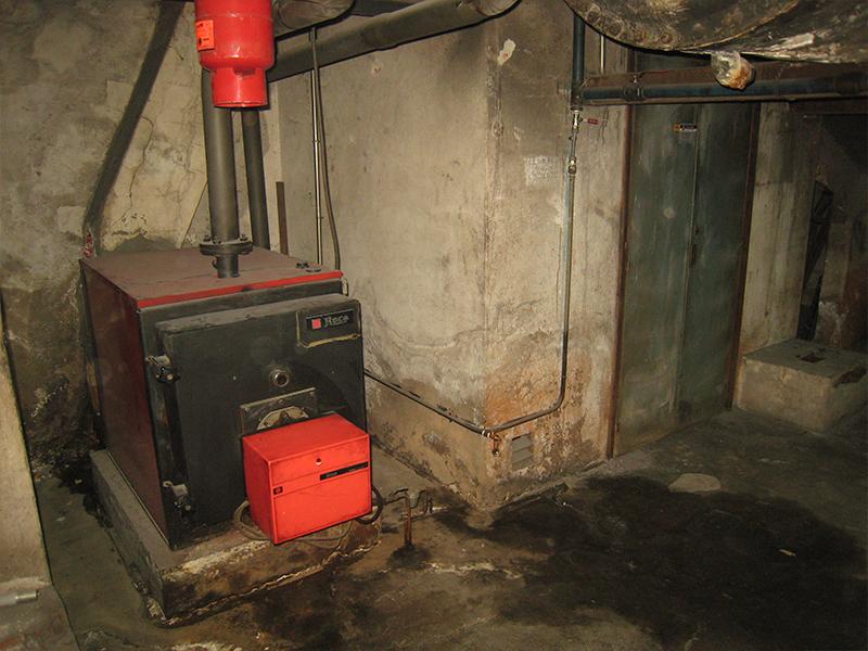 Cambio de Calefacción y Agua Caliente a Gas Natural - Antes