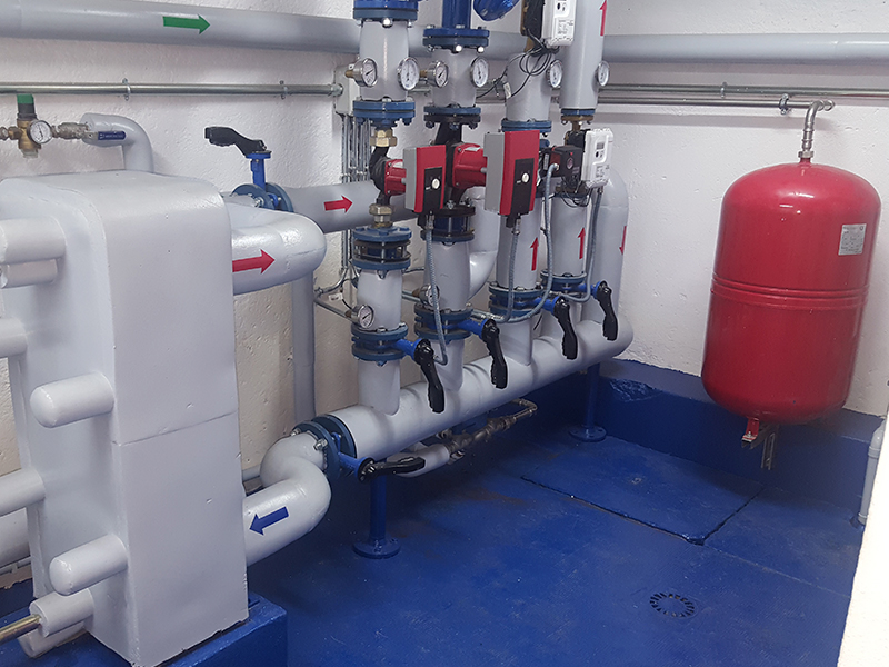Cambio de Calefacción y Agua Caliente a Gas Natural - Coruña