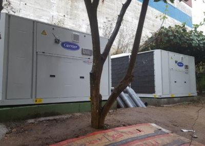 Proyecto de climatización en Hotel