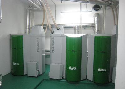 Reforma de Caldera a Biomasa AEAT