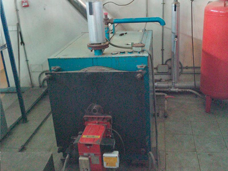 Reforma de Caldera a Biomasa - Antes