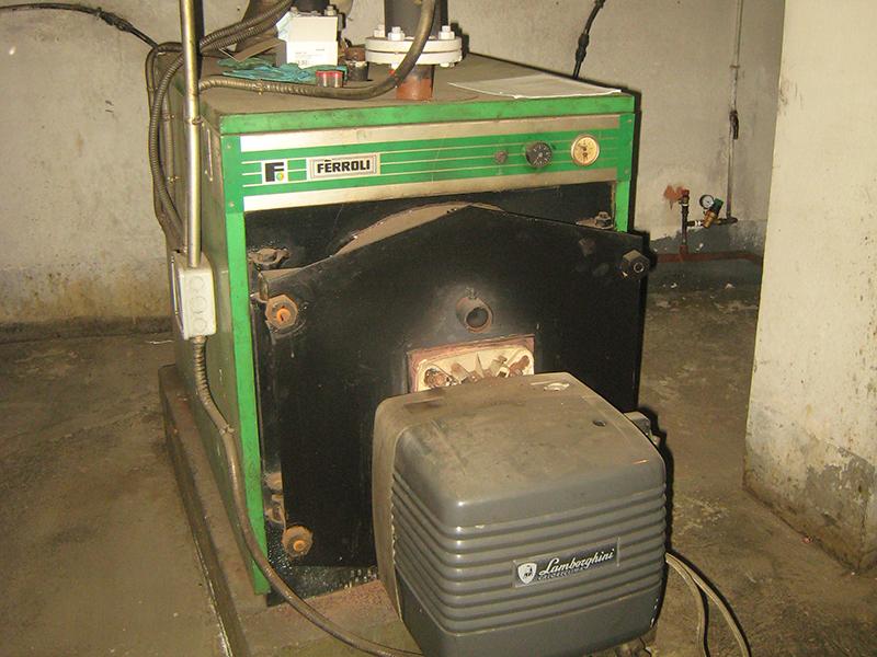 Reforma de Calefacción y Agua Caliente a Gas Natural - Antes