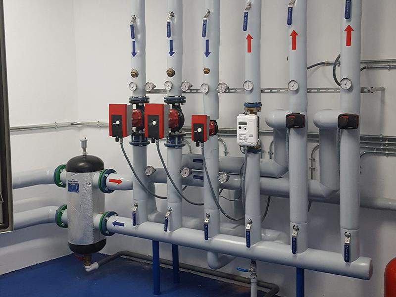 Reforma de Calefacción y Agua Caliente a Gas Natural - Los Tilos