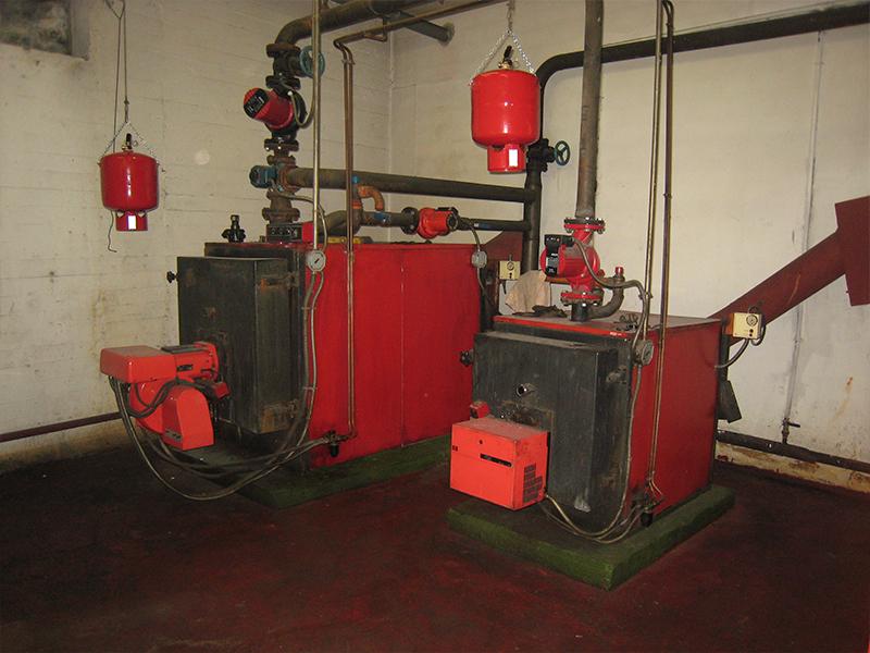 Reforma de Calefacción y Agua Caliente Comunidad - Antes