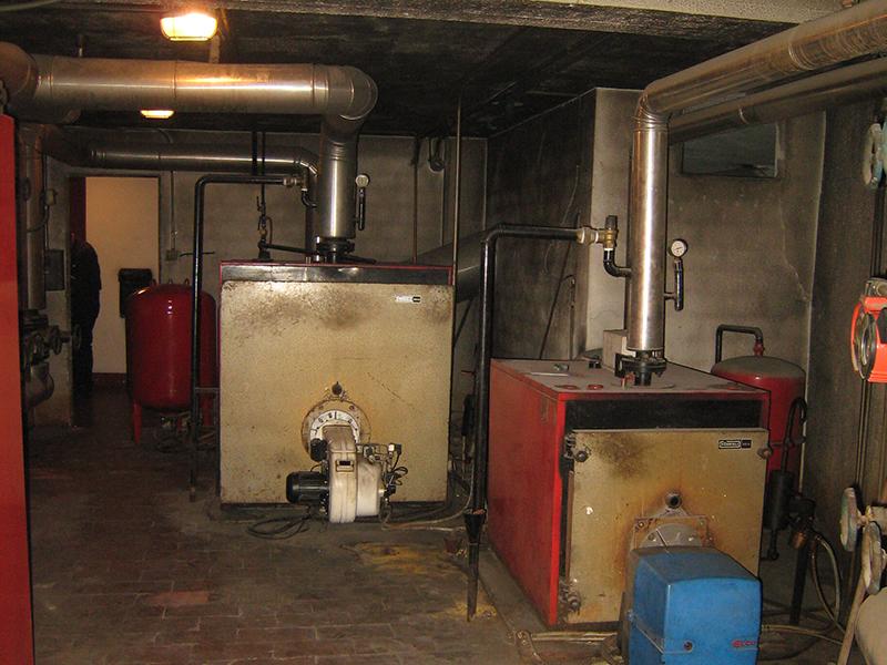 Transformación de Calefacción y Agua Caliente a Gas Natural - Antes