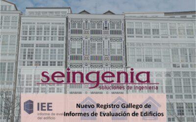Nuevo Registro Gallego de Informes de Evaluación de los Edificios